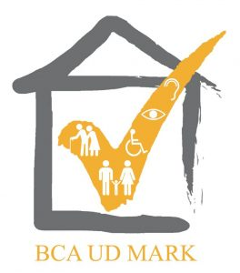 Logo of the BCA Universal Design Mark