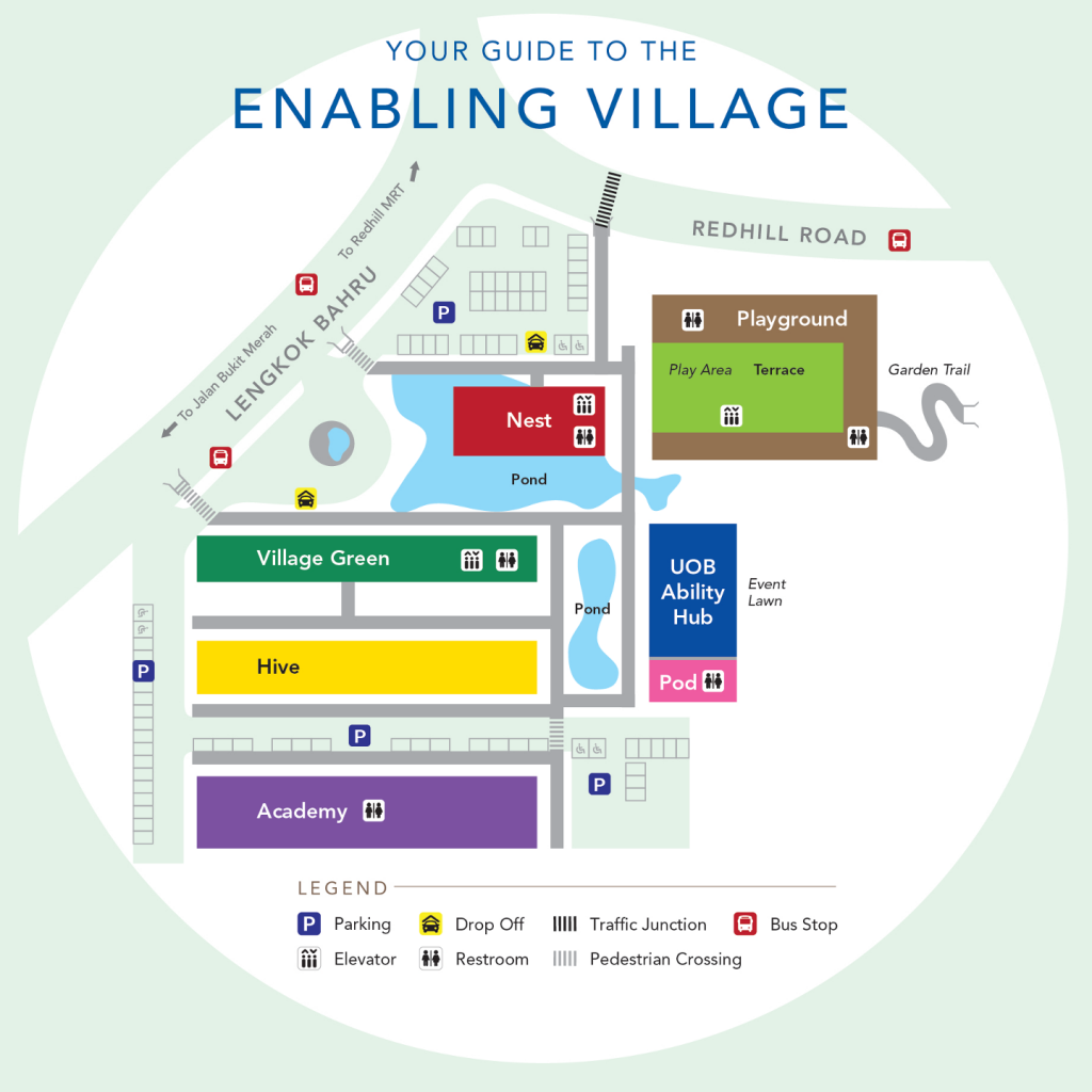 Map of Enabling Village