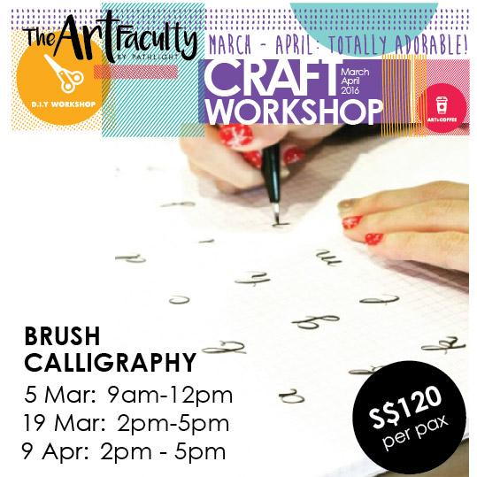 Creative diy workshops by the art faculty mar apr