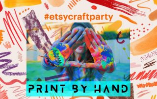 Get your hands dirty--in a good way--at the Etsy Craft Party