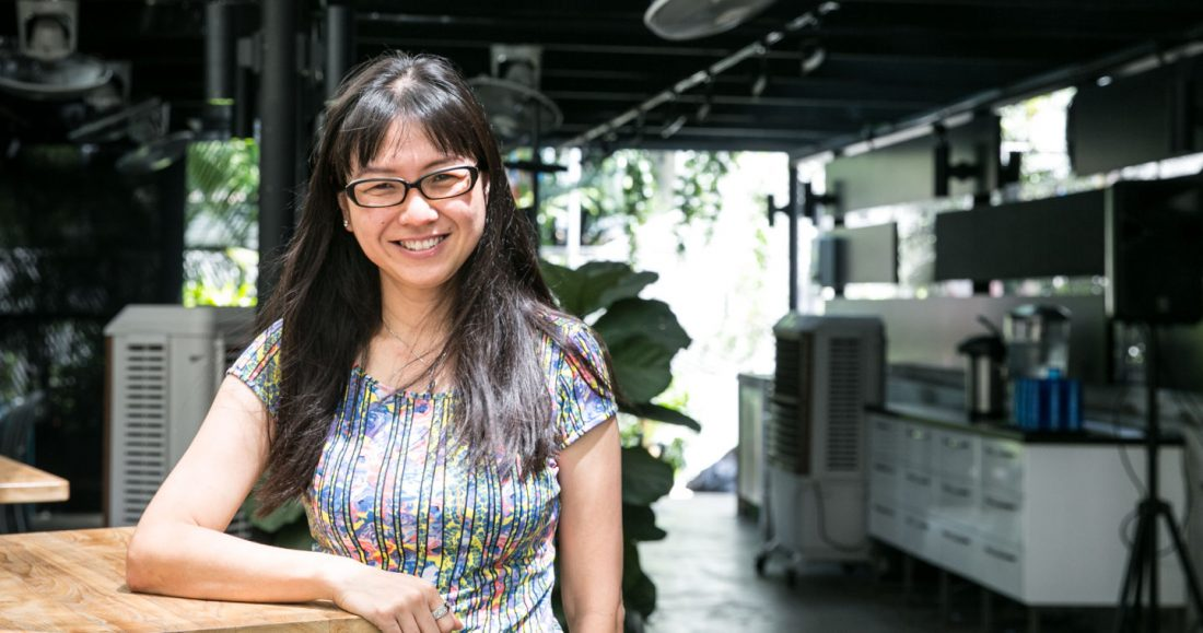 Photo of Josephine Ng, founder of social enterprise A-changin and New Rasa Singapura