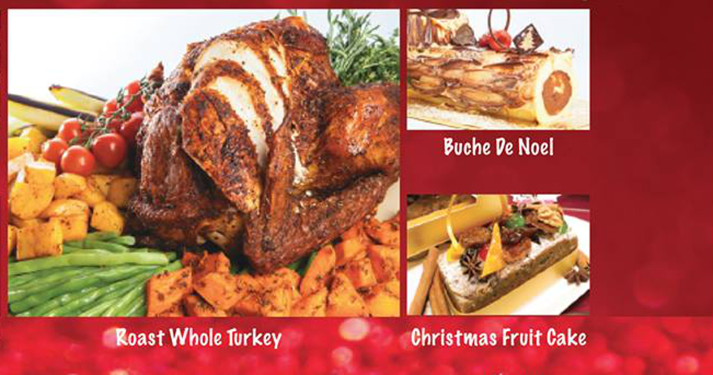 Order your Christmas delights at The Sapling