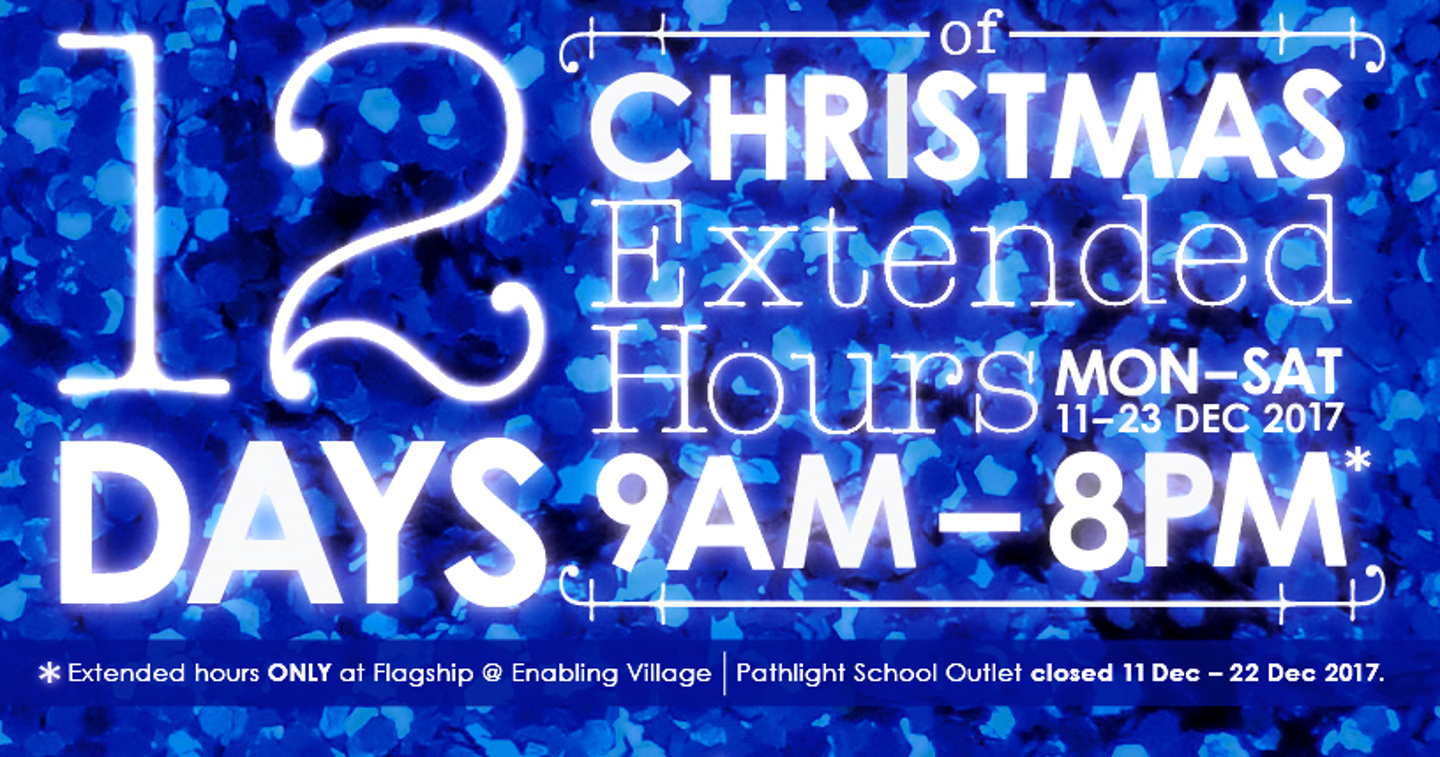 Extended opening hours at The Art Faculty this Christmas