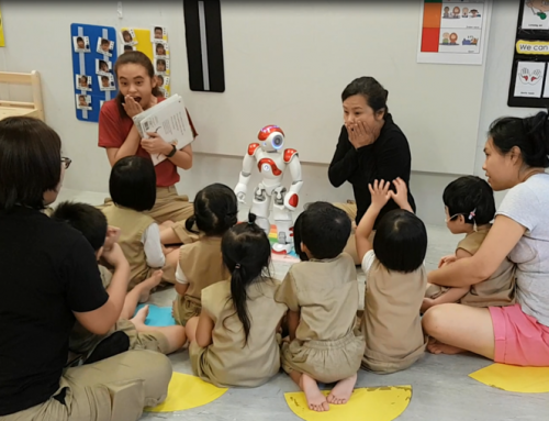 Could a robot help preschool kids learn better?