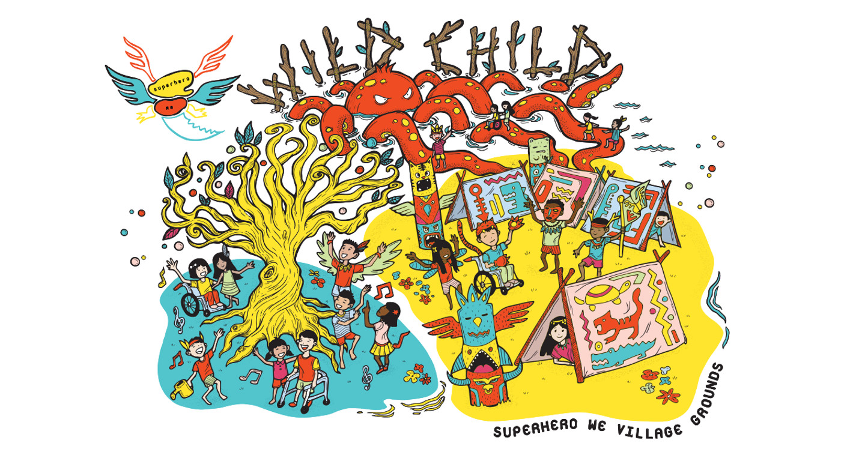 Superhero We Festival Banner